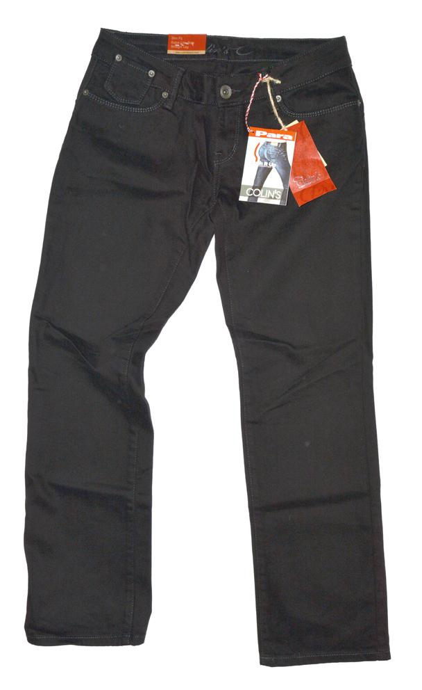colins damen push up effekt jeans para 41460 neu slim fit schwarz w28 l34 kt83. Black Bedroom Furniture Sets. Home Design Ideas