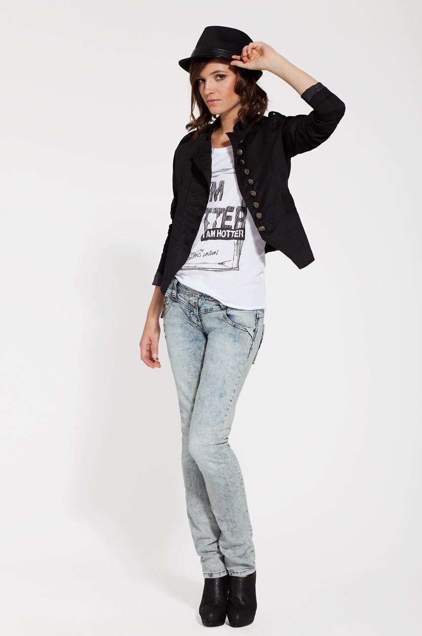 timezone ira damen hose jeans medium waist straight leg slim fit w26 l32 sr153 ebay. Black Bedroom Furniture Sets. Home Design Ideas